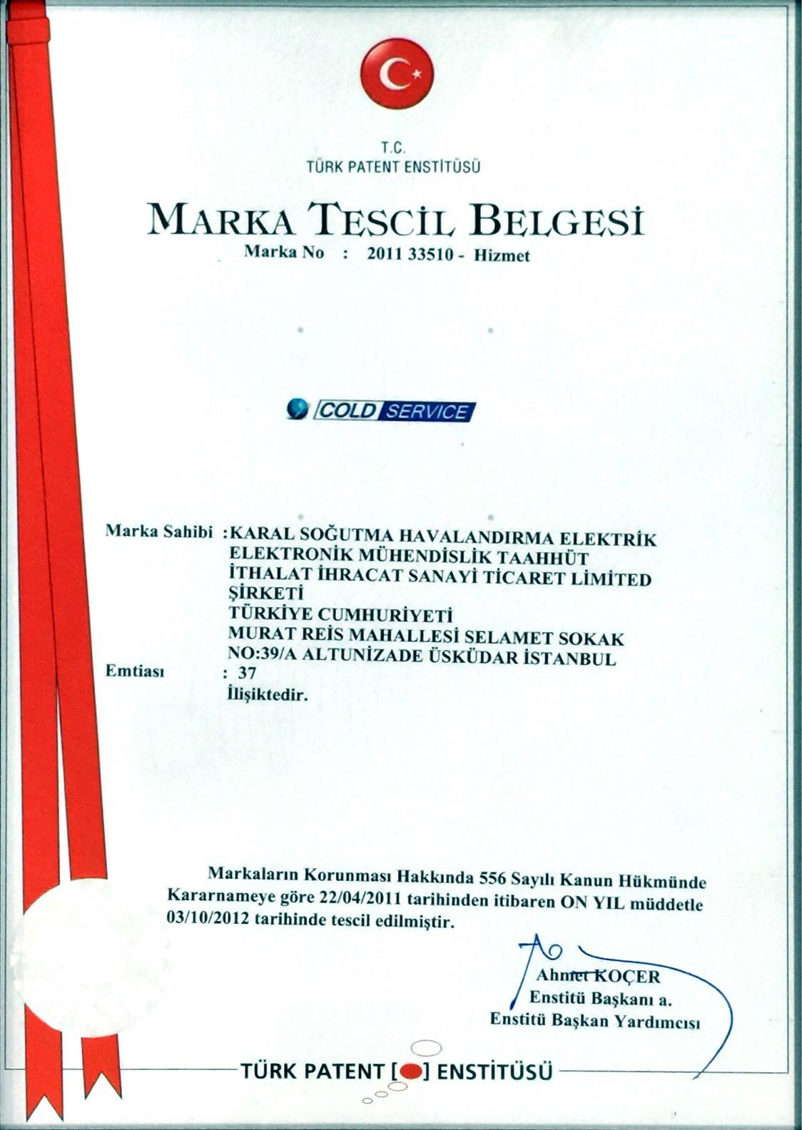 Cold-Service-Marka