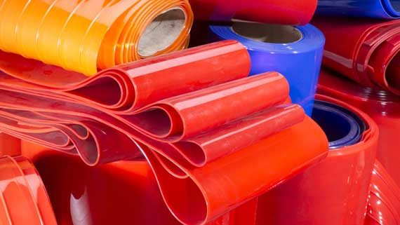 Colored PVC Strip