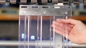 Standart PVC Şerit Perdeler